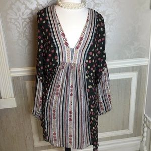 Free People Large NWOT dress boho chic gorgeous